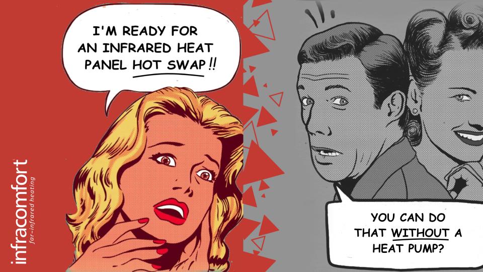 Infracomfort far-infrared heating Hot Swap