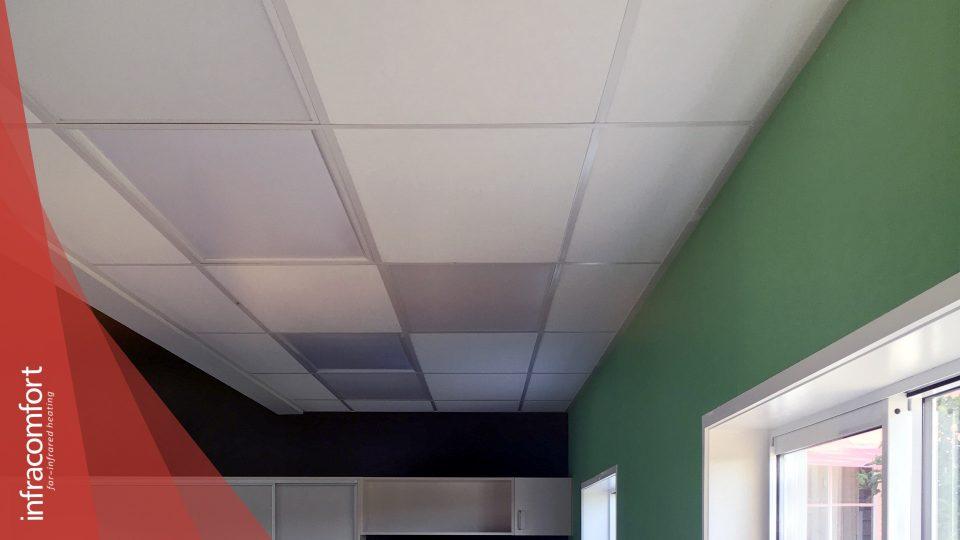 Tomarata Primary School infrared heating panels